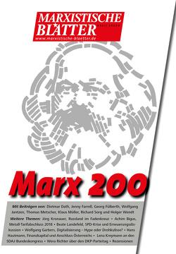 Marx 200 von Geisler,  Lothar