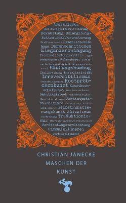 Maschen der Kunst von Janecke,  Christian
