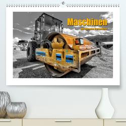 Maschinen aus extremer Perspektive (Premium, hochwertiger DIN A2 Wandkalender 2021, Kunstdruck in Hochglanz) von Niederkofler,  Georg