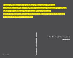 Maschinen Fabriken Industrien von Lazzarato,  Maurizio, Lorey,  Isabell, Negri,  Antonio, Nigro,  Roberto, Raunig,  Gerald, Sonderegger,  Ruth