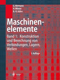 Maschinenelemente von Höhn,  Bernd-Robert, Niemann,  G., Winter,  H.
