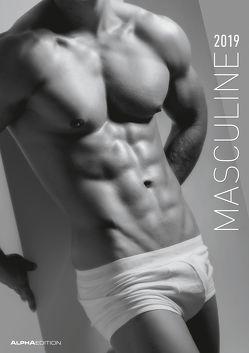 Masculine 2019 – A3-Bildkalender von ALPHA EDITION