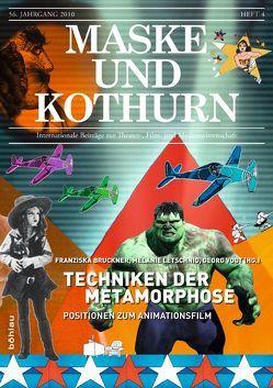 Maske und Kothurn / Techniken der Metamorphose von Bruckner,  Franziska, Letschnig,  Melanie, Vogt,  Georg