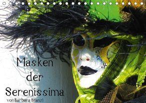 Masken der Serenissima (Tischkalender 2018 DIN A5 quer) von Stanzl und Brett Fitzpatrick,  Barbara