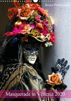 Masquerade in Venezia (Wandkalender 2020 DIN A3 hoch) von Puhlemann,  Bernd