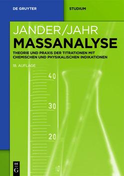 Maßanalyse von Jahr,  Karl-Friedrich, Jander,  Gerhart, Martens-Menzel,  Ralf, Schulze,  Gerhard, Simon,  Jürgen