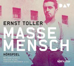 Masse – Mensch von Brückner,  Christian, Klink,  Rüdiger, Schulz,  Jana, Toller,  Ernst, u.v.a.