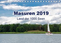 Masuren 2019 – Land der 1000 Seen (Tischkalender 2019 DIN A5 quer) von Nowak,  Oliver