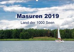 Masuren 2019 – Land der 1000 Seen (Wandkalender 2019 DIN A2 quer) von Nowak,  Oliver