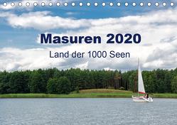 Masuren 2020 – Land der 1000 Seen (Tischkalender 2020 DIN A5 quer) von Nowak,  Oliver