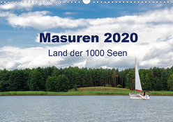 Masuren 2020 – Land der 1000 Seen (Wandkalender 2020 DIN A3 quer) von Nowak,  Oliver