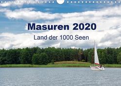 Masuren 2020 – Land der 1000 Seen (Wandkalender 2020 DIN A4 quer) von Nowak,  Oliver