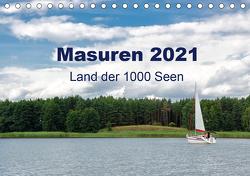 Masuren 2021 – Land der 1000 Seen (Tischkalender 2021 DIN A5 quer) von Nowak,  Oliver