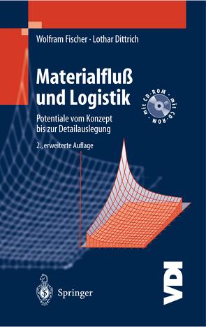 Materialfluß und Logistik von Dittrich,  Lothar, Fischer,  Wolfram