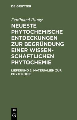 Materialien zur Phytologie von Runge,  Ferdinand