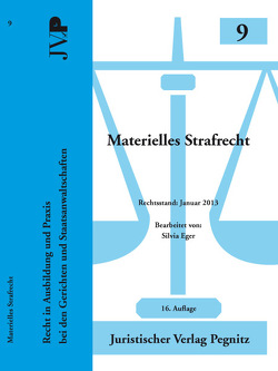 Materielles Strafrecht von Eger,  Silvia