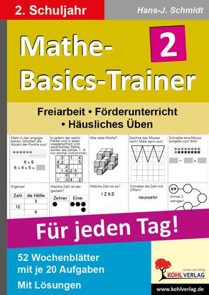 Mathe-Basics-Trainer / Klasse 2 von Schmidt,  Hans-J.