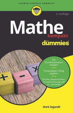 Mathe kompakt für Dummies von Zegarelli,  Mark