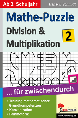 Mathe-Puzzle … für zwischendurch / Band 2 von Schmidt,  Hans-J.