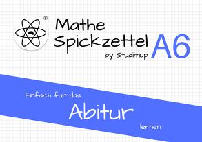Mathe Spickzettel A6 von Josch,  Maximilian