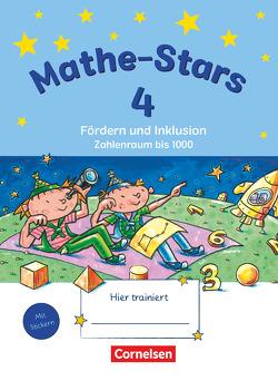 Mathe-Stars – Fördern und Inklusion / 4. Schuljahr – Übungsheft von Schlabitz,  Birgit