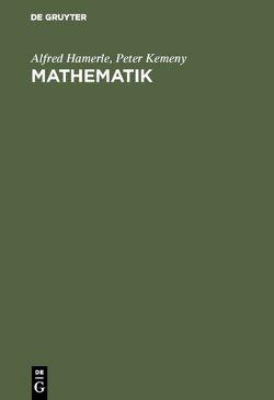 Mathematik von Hamerle,  Alfred, Kemeny,  Peter