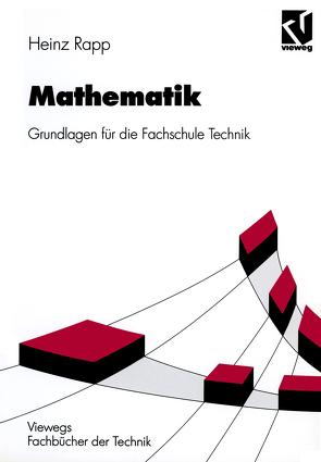 Mathematik von Rapp,  Heinz