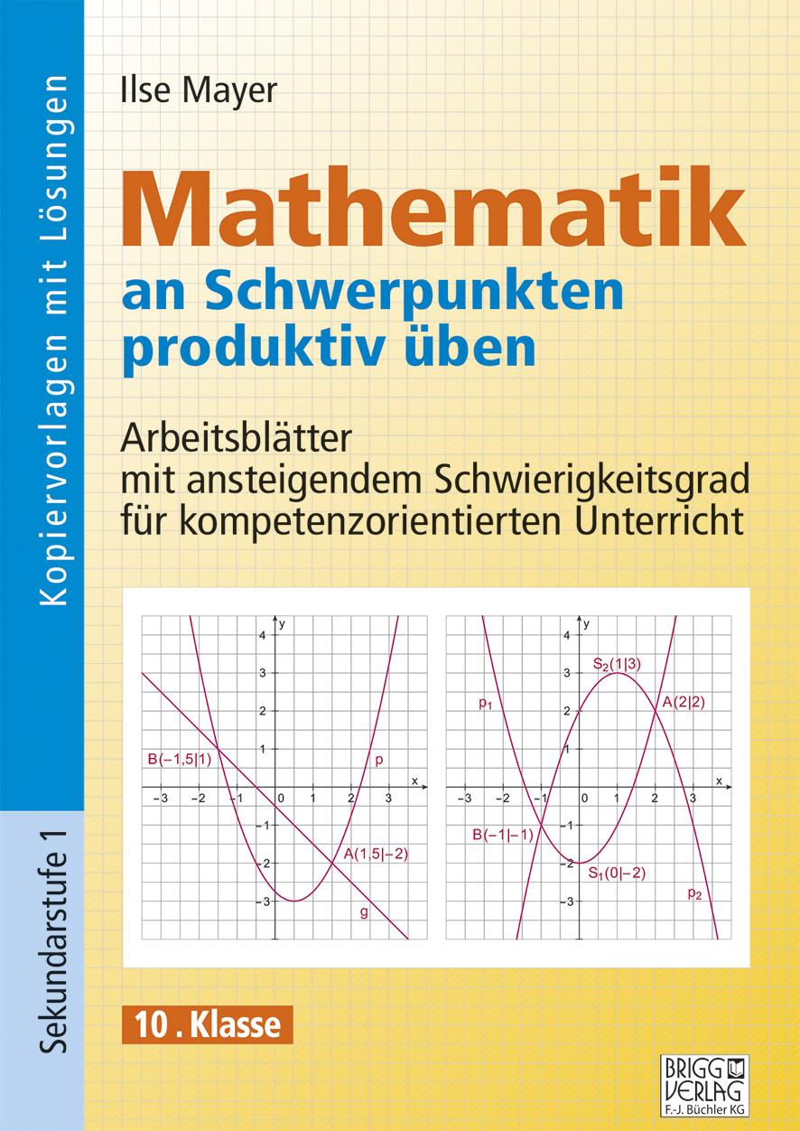 Mathematik an Schwerpunkten produktiv üben - 10. Klasse von Mayer, Il