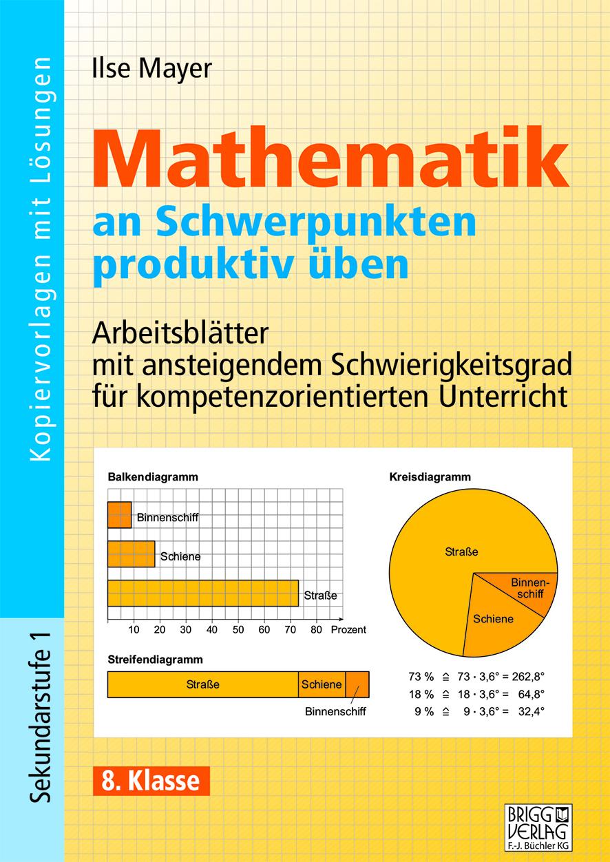 Mathematik an Schwerpunkten produktiv üben - 8. Klasse von Mayer, Ils