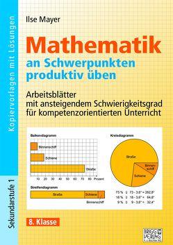 Mathematik an Schwerpunkten produktiv üben – 8. Klasse von Mayer,  Ilse