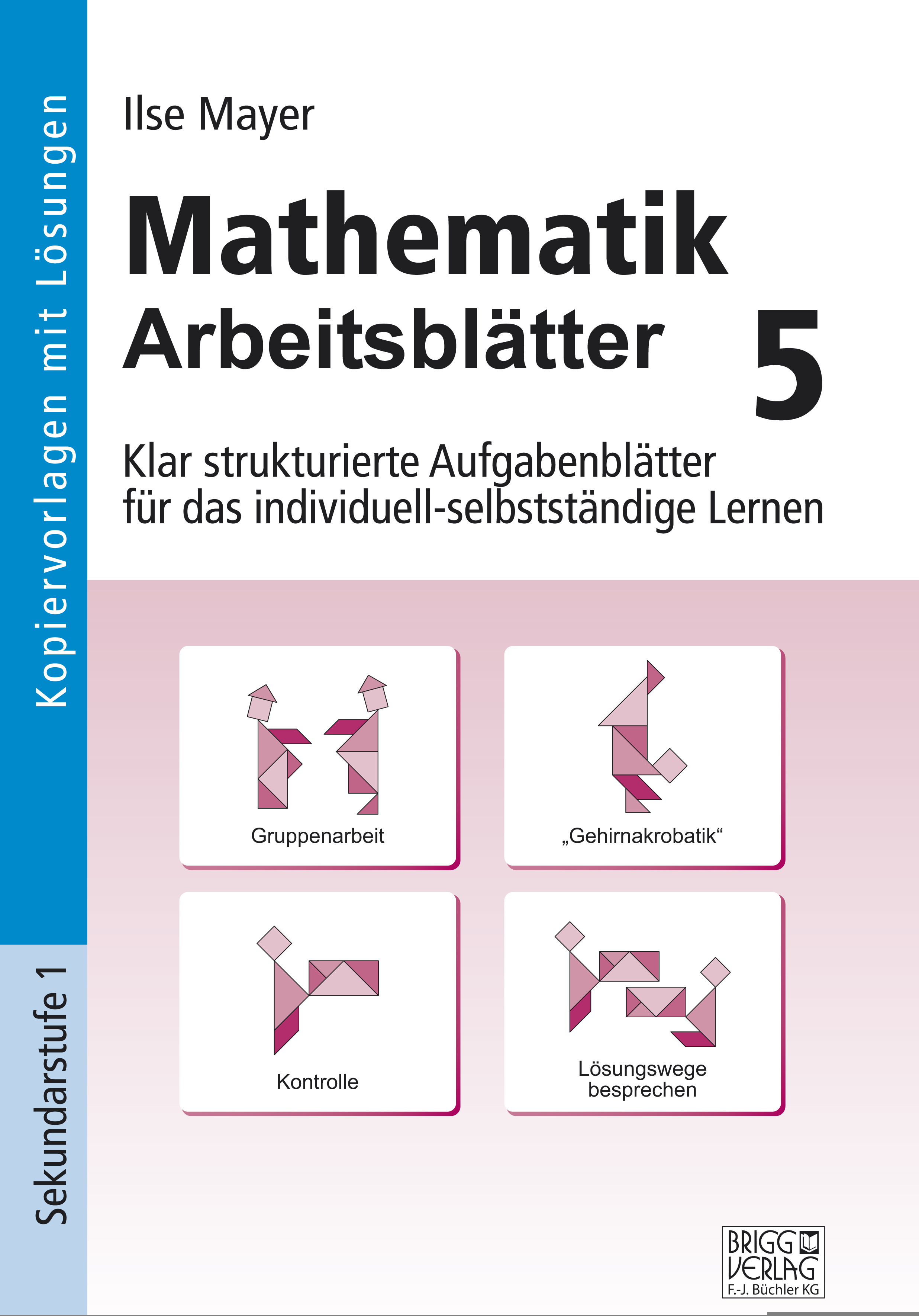 Mathematik Arbeitsblätter 5 von Mayer, Ilse: Klar strukturierte Aufga