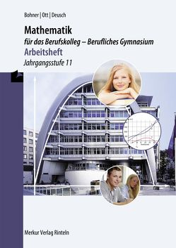 Mathematik für das Berufskolleg – Berufliches Gymnasium – Arbeitsheft von Bohner,  Kurt, Deusch,  Ronald, Ott,  Roland