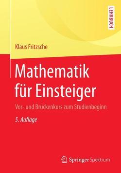 Mathematik für Einsteiger von Fritzsche,  Klaus