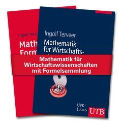 Mathematik für Wirtschaftswissenschaften mit Formelsammlung von Terveer,  Ingolf
