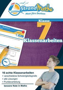 Mathematik Klassenarbeits-Trainer Klasse 7 – StrandMathe von Hotop,  Christian, Reutter,  Philipp, Zimmermann,  Conrad
