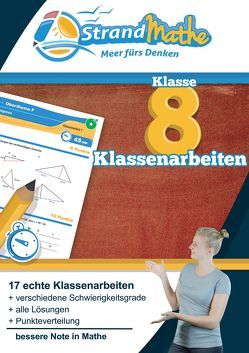 Mathematik Klassenarbeitstrainer Klasse 8 – StrandMathe von Hotop,  Christian, Reutter,  Philipp, Zimmermann,  Conrad