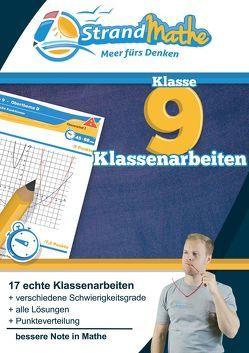 Mathematik Klassenarbeitstrainer Klasse 9 – StrandMathe von Hotop,  Christian, Reutter,  Philipp, Zimmermann,  Conrad