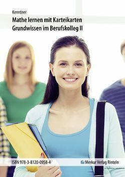 Mathematik lernen mit Karteikarten von Kenntner,  Gregor