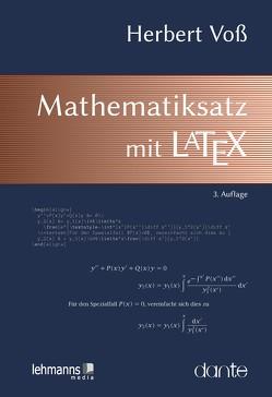 Mathematiksatz mit LaTeX von Voß,  Herbert