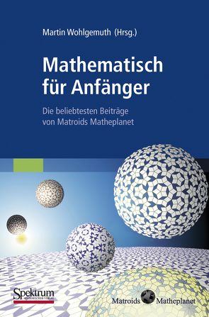Mathematisch für Anfänger von Wohlgemuth,  Martin
