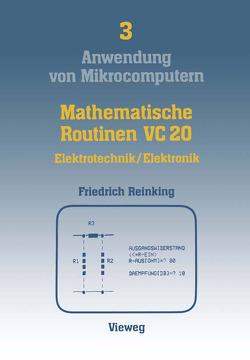 Mathematische Routinen VC 20 von Reinking,  Ernst Friedrich