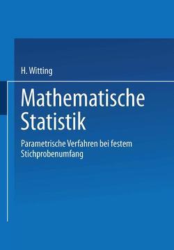 Mathematische Statistik I von Witting,  H.