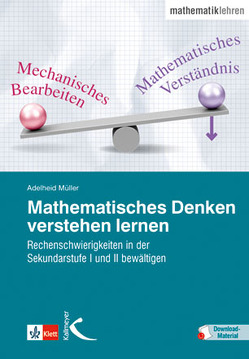 Mathematisches Denken verstehen lernen von Müller,  Adelheid