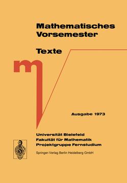 Mathematisches Vorsemester von Grotemeyer,  K.P., Richter,  G
