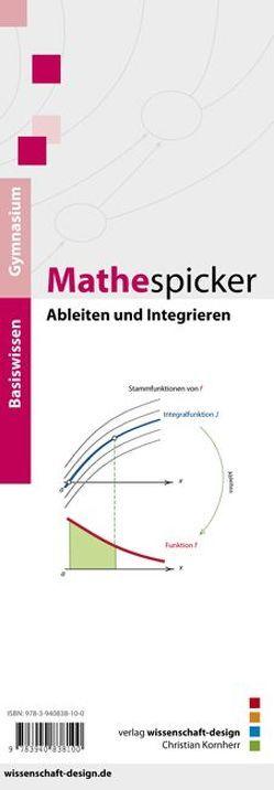Mathespicker, Ableiten und Integrieren von Kornherr,  Christian