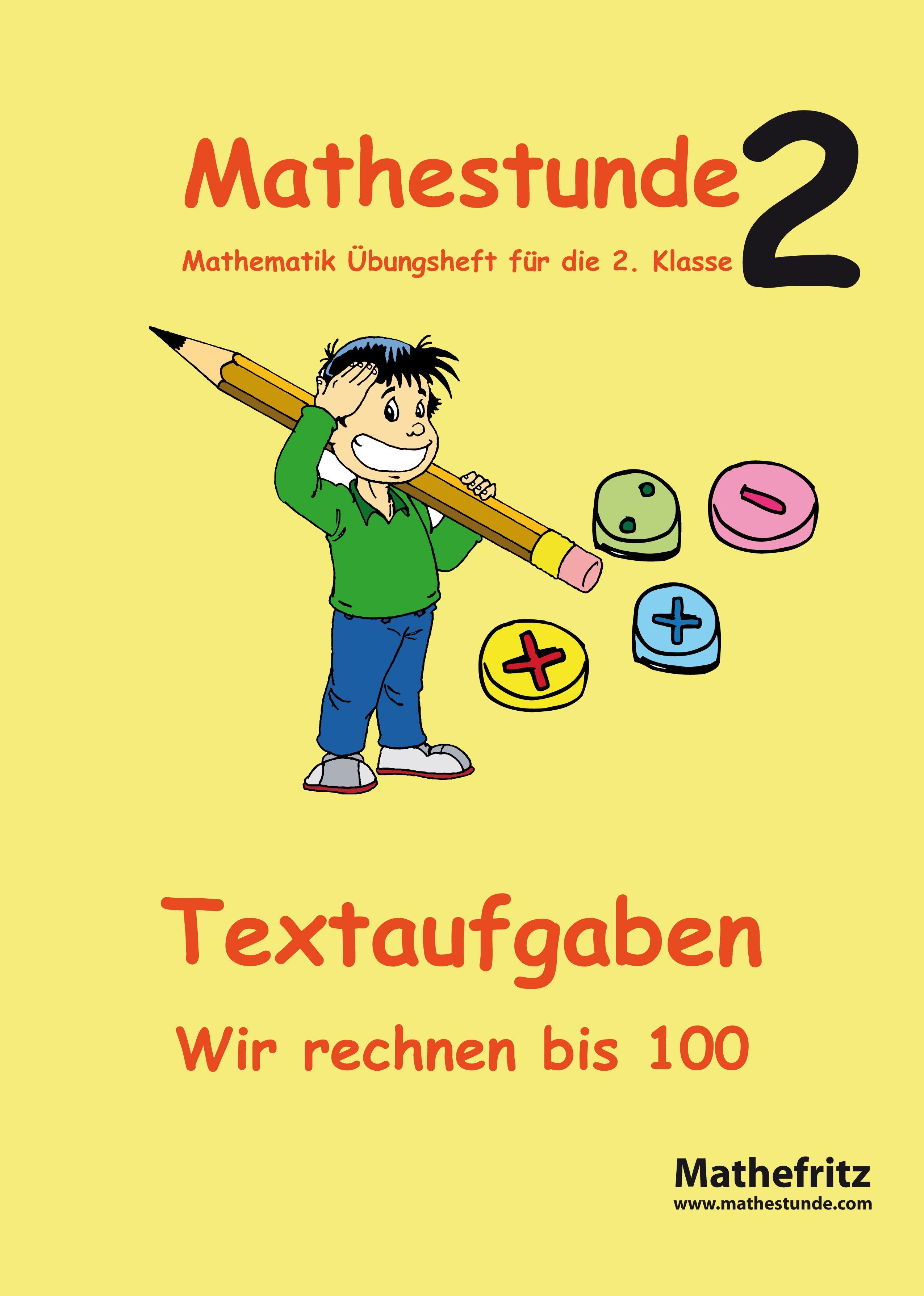 mathestunde 2 textaufgaben wir rechnen bis 100 von