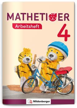 Mathetiger 4 – Arbeitsheft – Neubearbeitung von Kinkel-Craciunescu,  Martina, Laubis,  Thomas