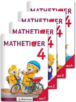 Mathetiger 4 – Heftausgabe · Neubearbeitung von Heidenreich,  Matthias, Laubis,  Thomas, Schnitzer,  Eva