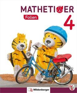Mathetiger 4 – Transparentfolien · Neubearbeitung von Heidenreich,  Matthias, Laubis,  Thomas, Schnitzer,  Eva