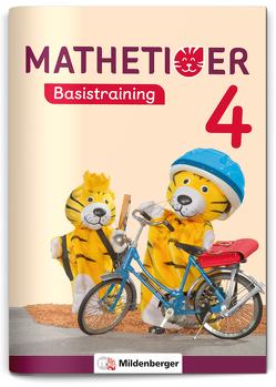 Mathetiger Basistraining 4 von Laubis,  Thomas, Schnitzer,  Eva